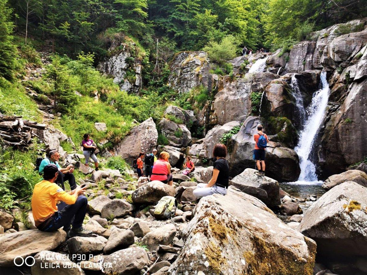event-Trekking Inedito alle Cinque Cascate del Rio Valdarno