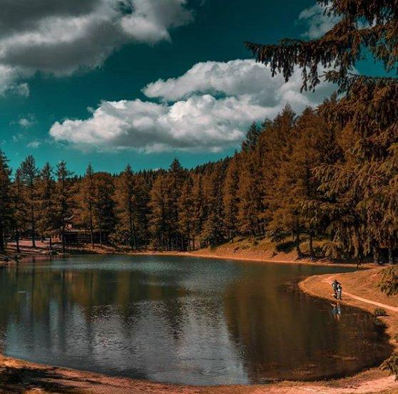event-Il Lago della Ninfa: Sedotti dalle Tinte Autunnali Piedi del Cimone