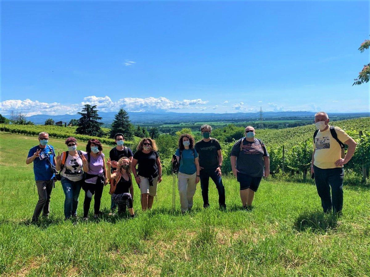 event-San Colombano al Lambro: Itinerario tra i Vigneti della Collina Morenica