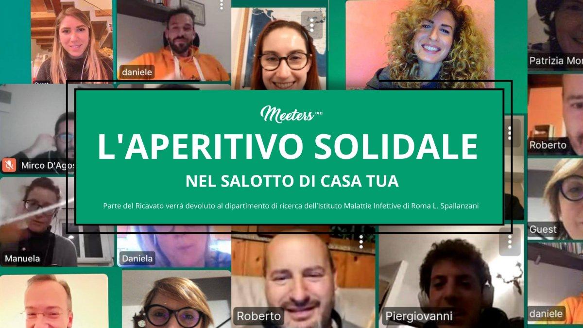 event-Aperitivo Solidale direttamente nel Salotto di casa tua!