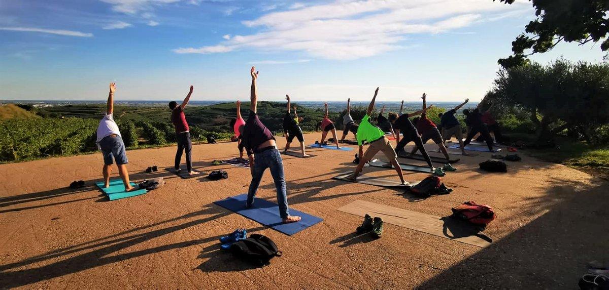 event-Passeggiata con Yoga tra Soave e Monteforte d'Alpone