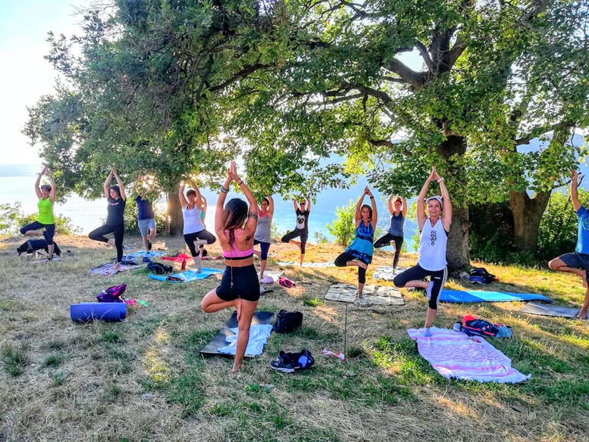 event-Yoga e Passeggiata Panoramica sulla Rocca di Garda