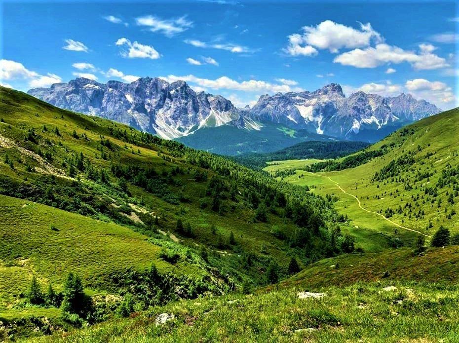 event-Trekking alle Malghe di Confine tra la Val Pusteria ed il Comelico - MATTINA