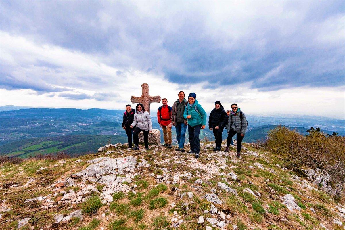event-Trekking Panoramico sul Monte Pastello, Lessinia