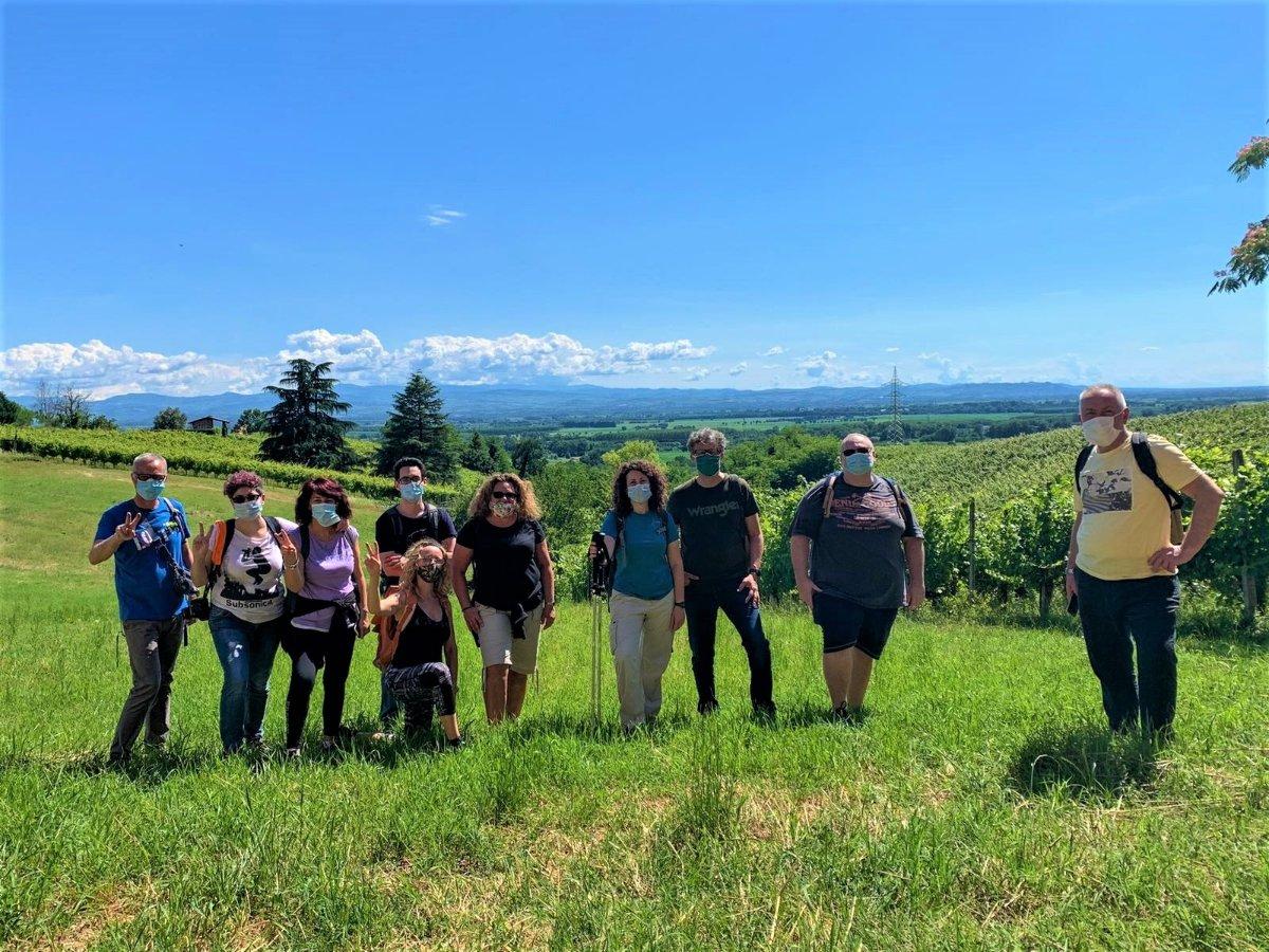 event-San Colombano al Lambro: Itinerario tra i Vigneti della Collina Morenica - POMERIGGIO