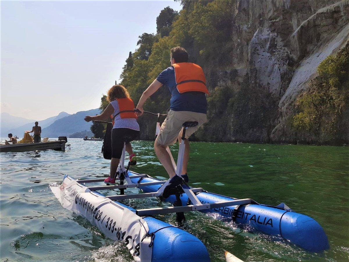 event-Un'Esilarante Pedalata Sulle Acque del Lago di Como - 1° Turno