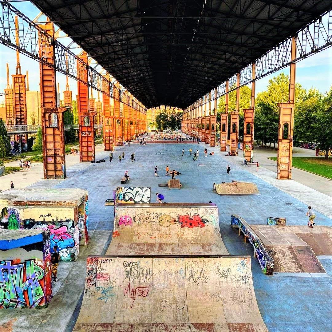 event-Un Inferno Trasformato in Paradiso: Visita al Parco Dora di Torino