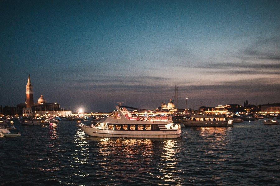 event-Venezia - Feste del Redentore in Barca