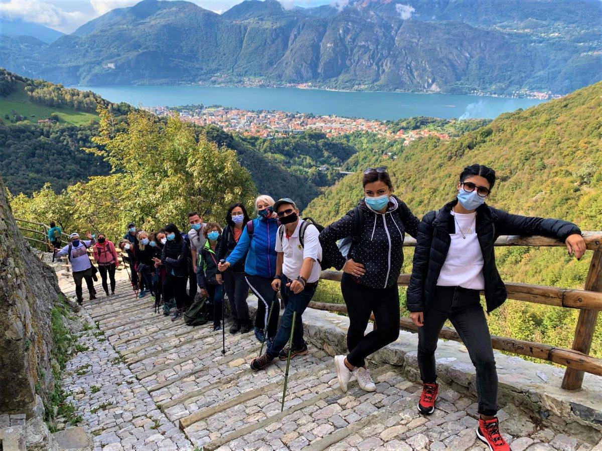 event-Passeggiata Sensoriale al Santuario di Mandello sul Lago di Como