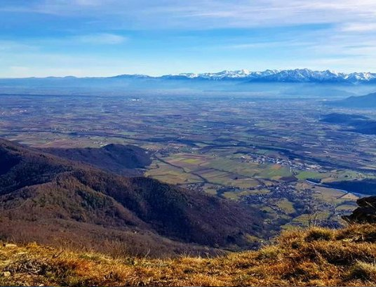 event-Monte San Bernardo: Una Finestra Spalancata su Pianura Cuneese e Arco Alpino