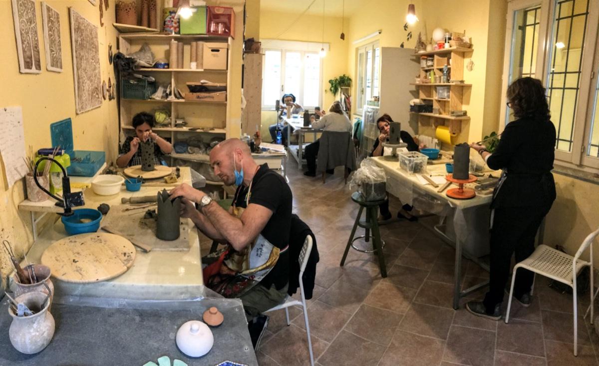 event-Corso dai Maestri Ceramisti: Impariamo la Decorazione con Argille Colorate