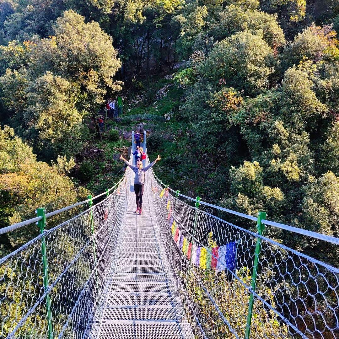 event-Hatha Yoga e Passeggiata sul Ponte Tibetano di Crero