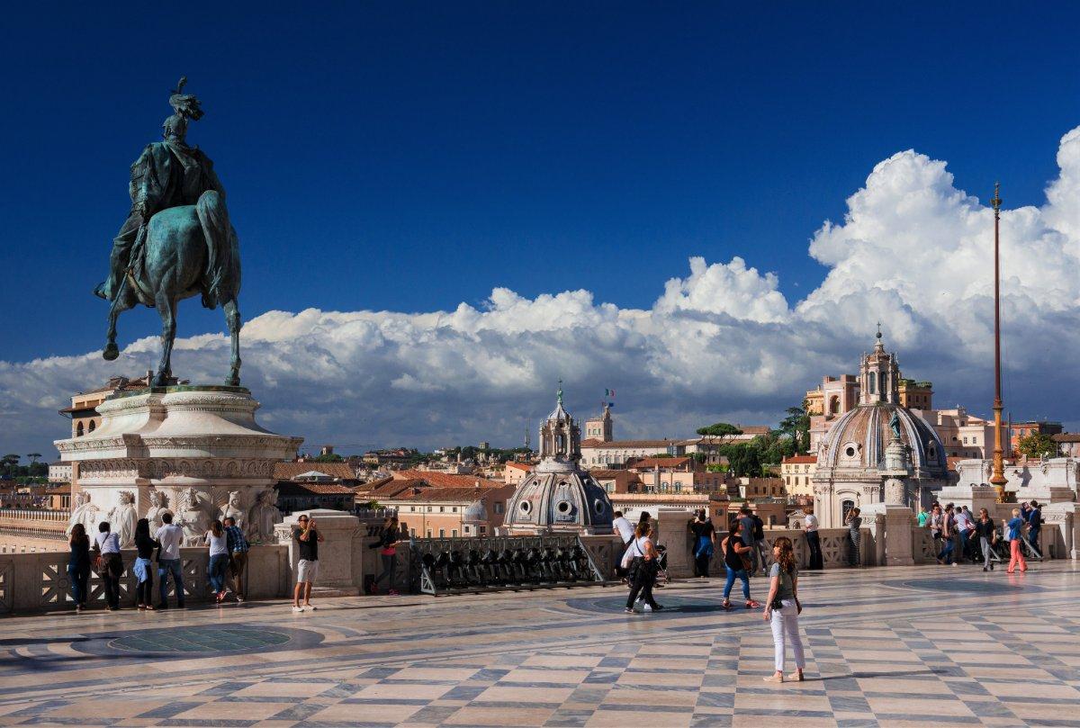 event-Trekking Urbano di Roma: I Sette Colli e la Terrazza del Vittoriano