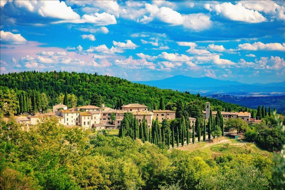 Là dove nacque il Gallo Nero, simbolo indiscusso del Vino Chianti