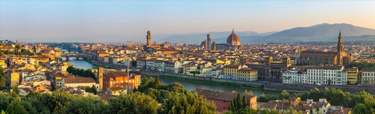 Da Olmo di Fiesole a Firenze