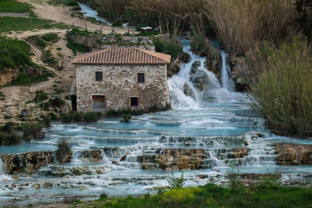 Le Cascate del Mulino, Saturnia