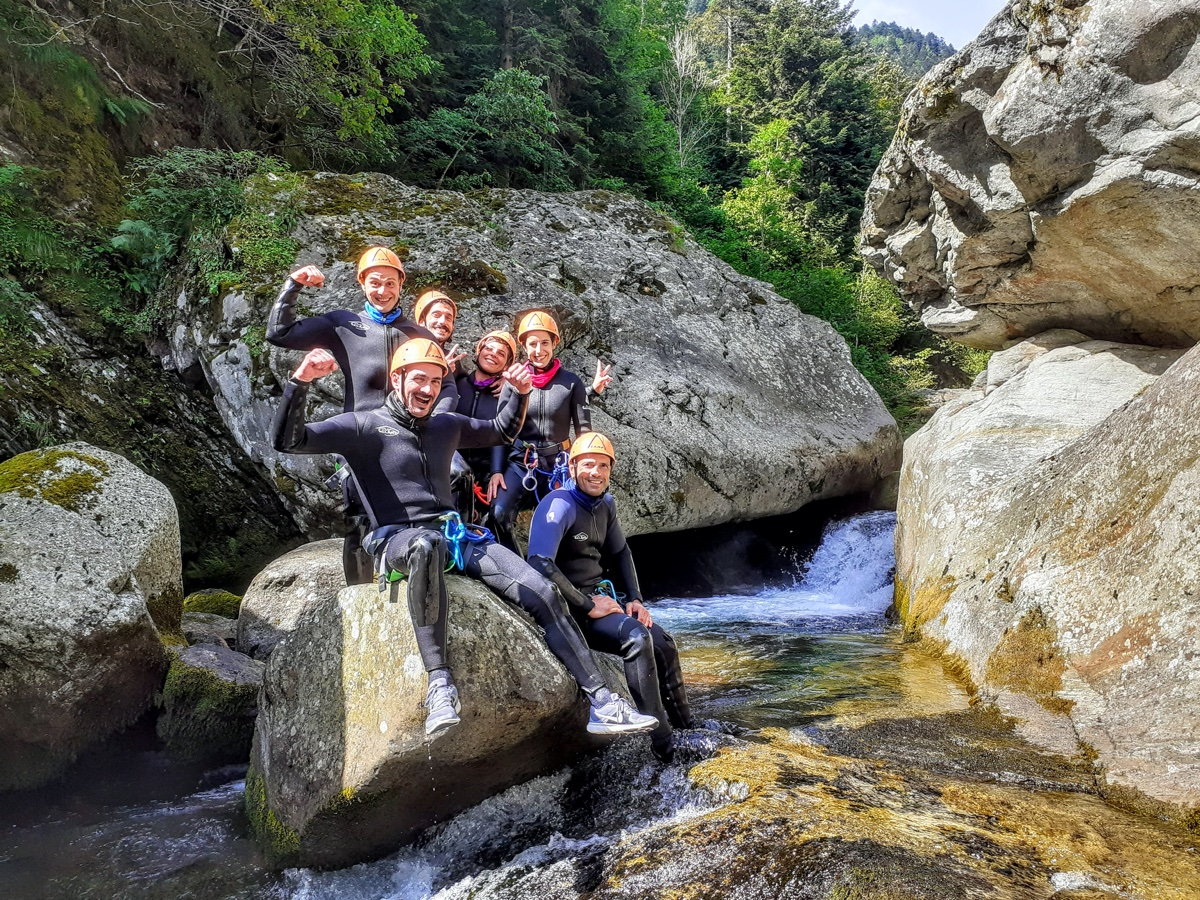 event-Un Entusiasmante Canyoning alle Pendici del Monte Rosa