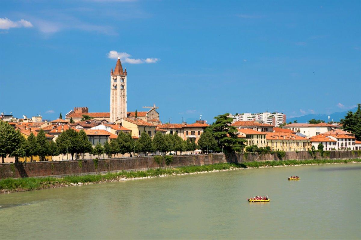 event-Verona Inedita: Rafting in Centro e Vista Panoramica della Città