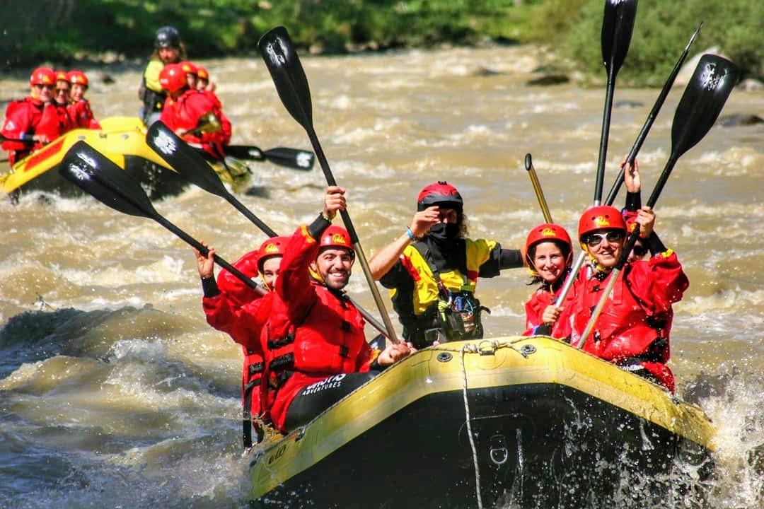 event-Emozionante Rafting lungo le Rapide del Fiume Noce