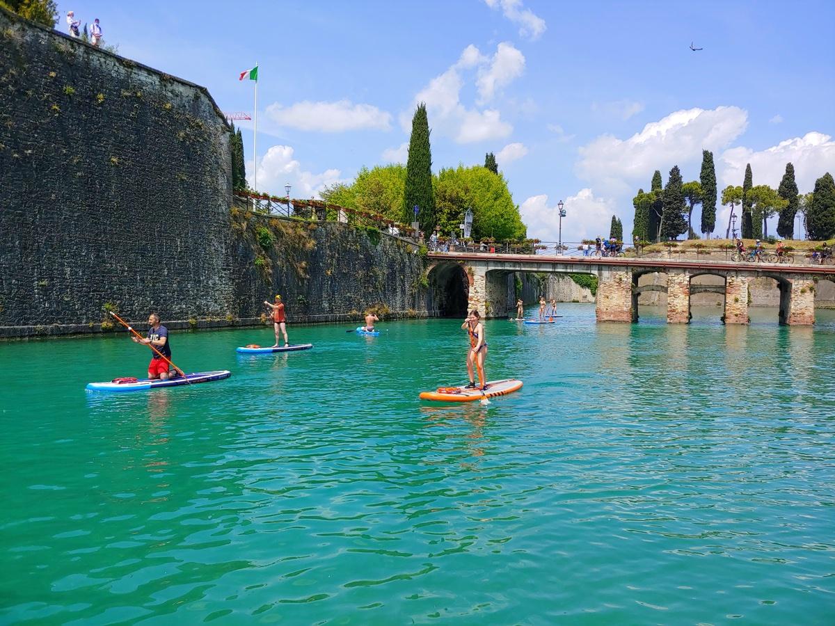 event-Giro in Stand Up Paddle tra le Mura Antiche di Peschiera del Garda