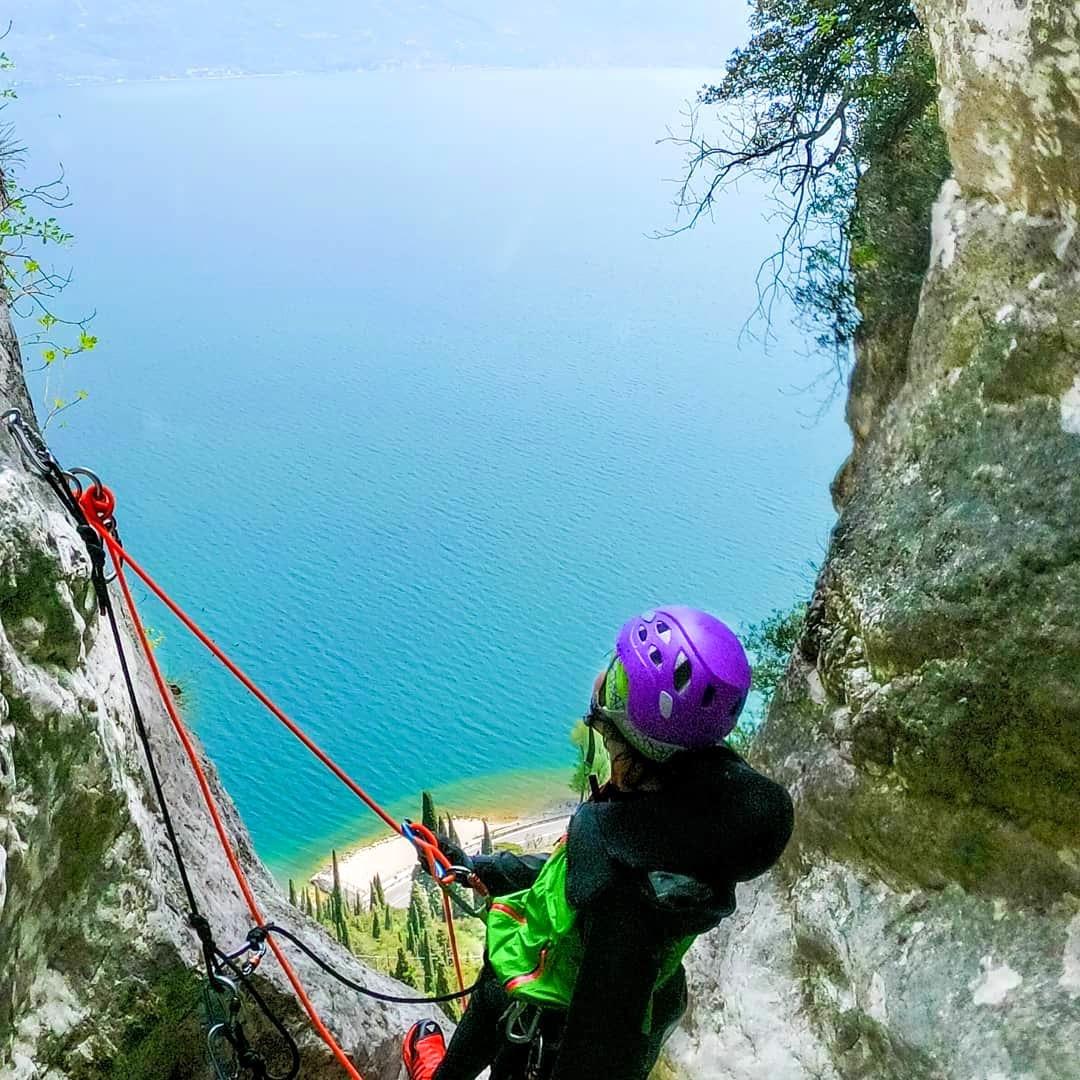 event-Canyoning Spettacolare tra le Cascate di Tignale sul Lago di Garda