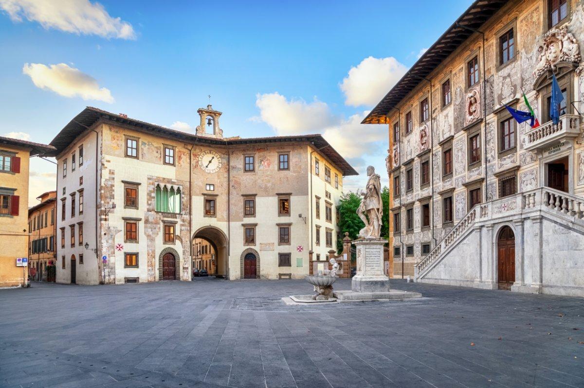 event-I Palazzi di Pisa: Tour Guidato da Piazza dei Cavalieri al Lungarno