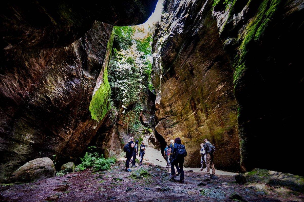 event-Orridi di Uriezzo: Trekking al Centro della Terra e Pranzo con Vista