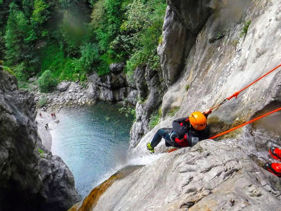 event-Canyoning Adrenalinico lungo il Torrente Palvico