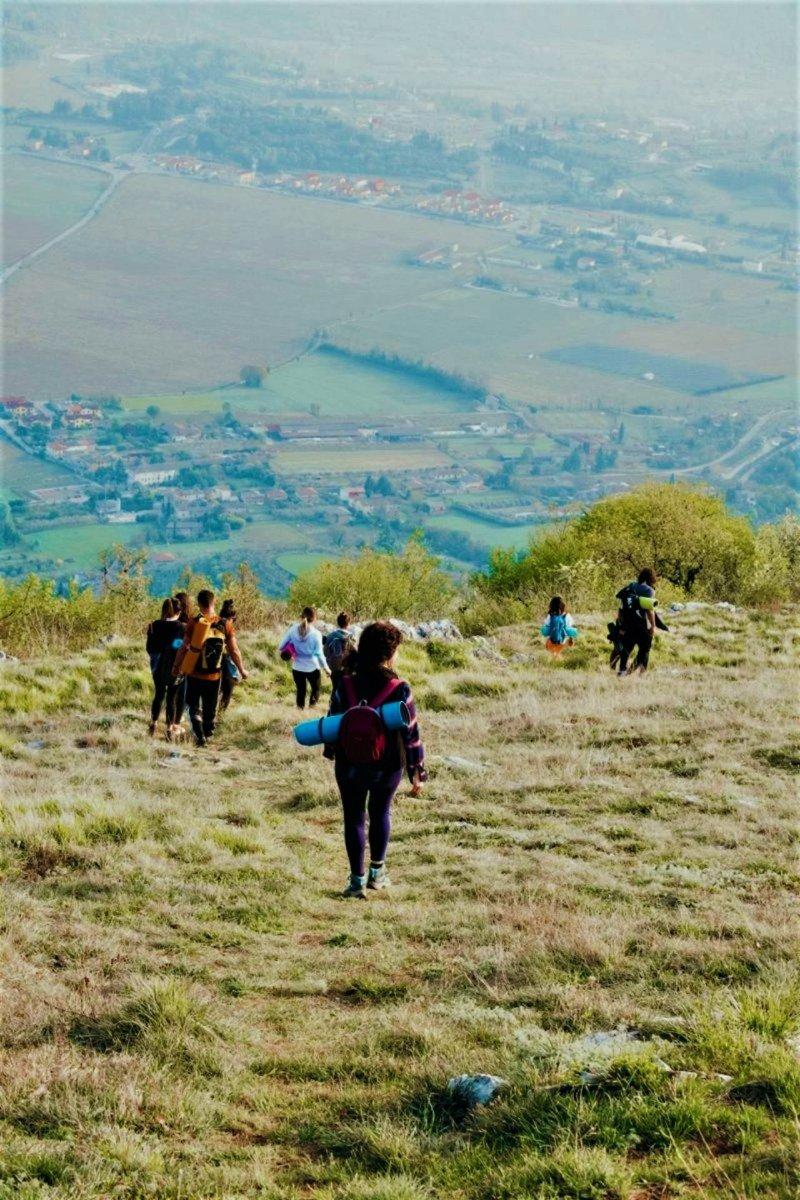 event-Passeggiata Sportiva con Yoga sul Monte Belpo