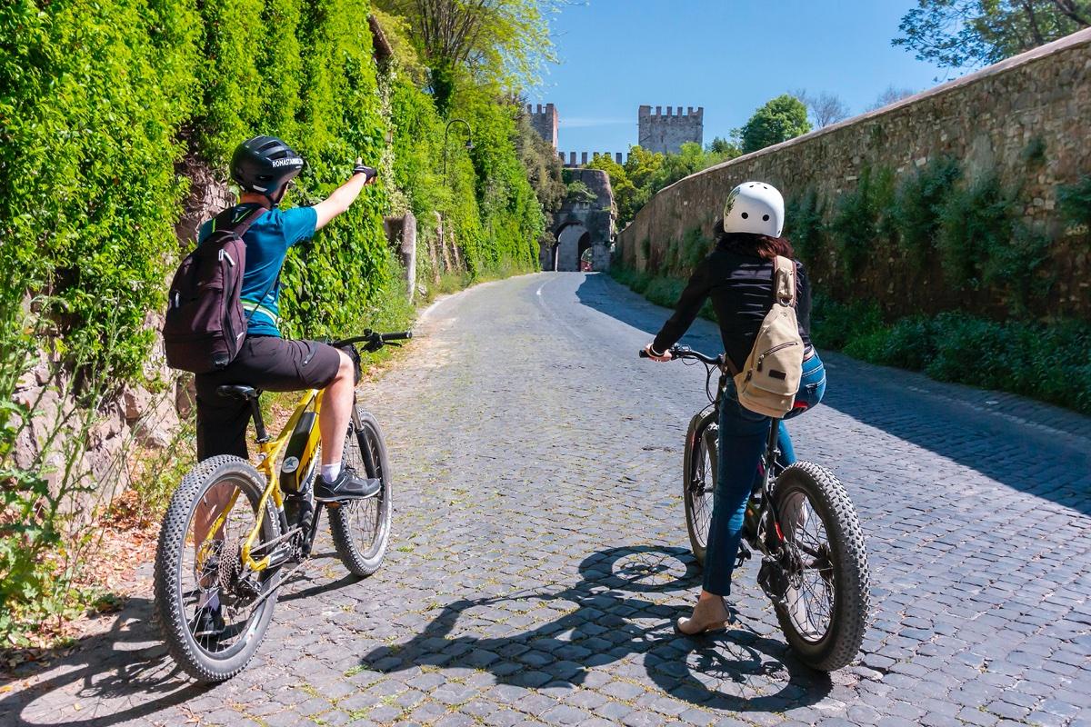 event-E-Bike Tour sull'Appia Antica (Bici Inclusa)