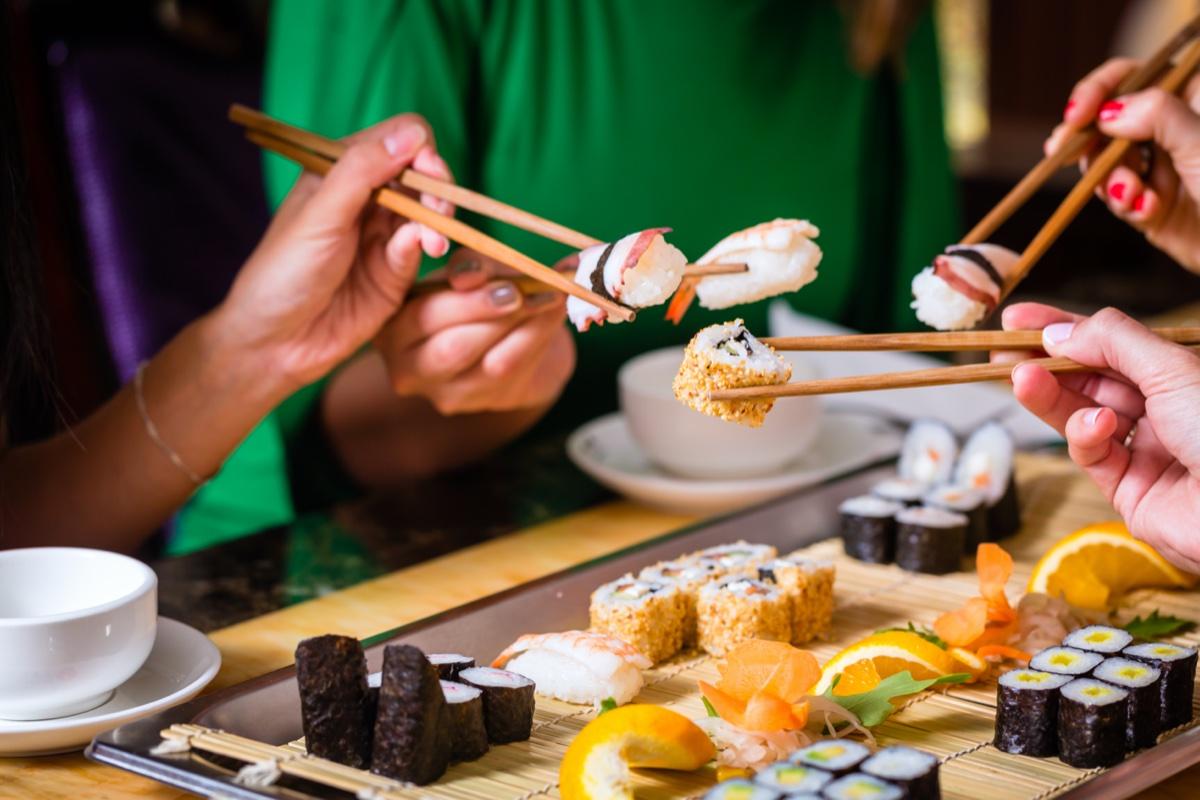 event-Sapori dal Mondo: Sushi All You Can Eat a Roma [età 40-65]