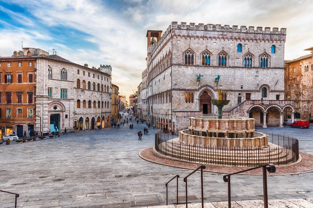 Il borgo medievale di Perugia