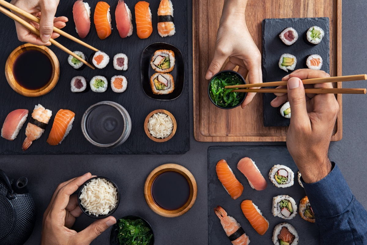 event-Sapori dal Mondo: Sushi All You Can Eat a Vicenza [età 40-65]