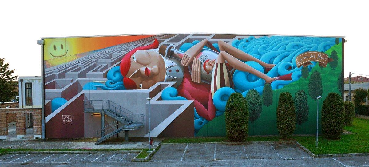 event-Pisa Capitale della Street Art: Passeggiata tra i Murales