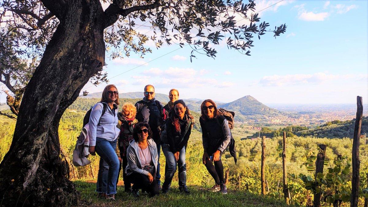 event-Cammino di Dante in Valdinievole e Tramonto al Castello di Montecatini