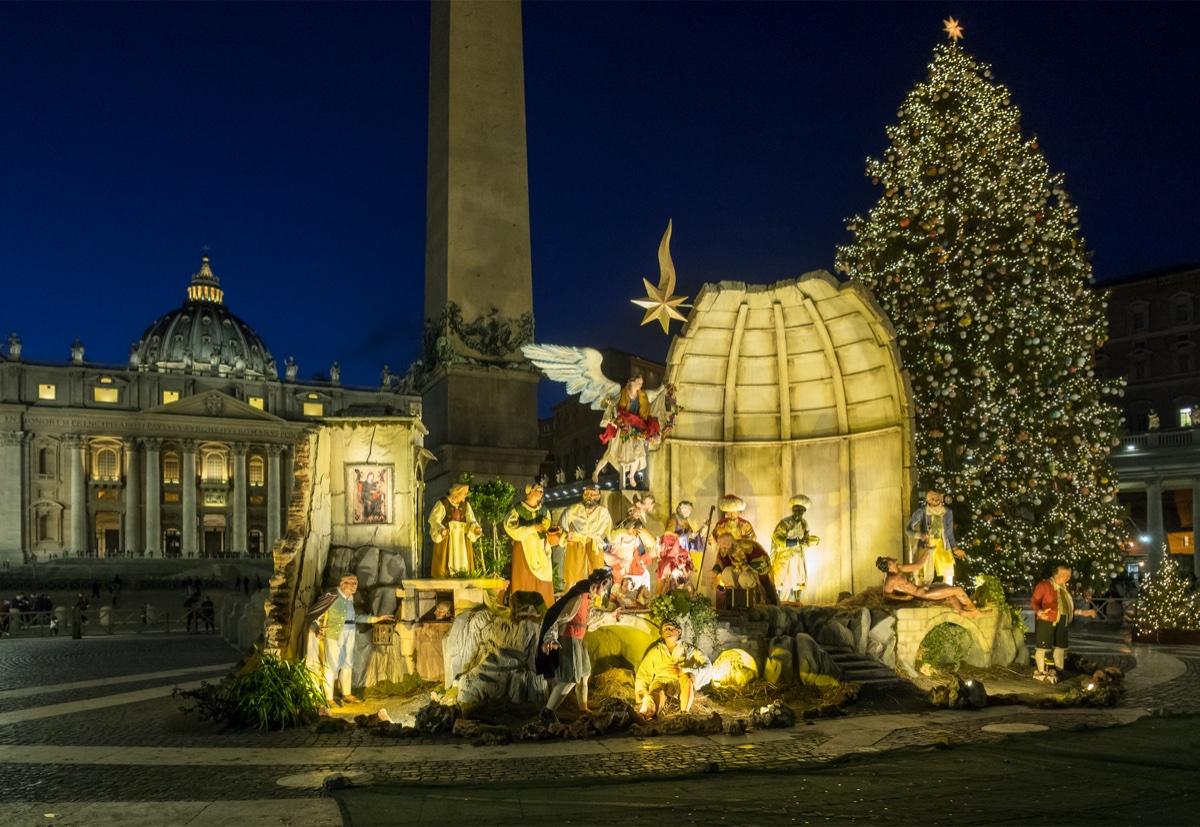 event-Tour Natalizio dei Cento Presepi in Vaticano