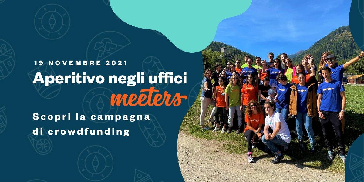 event-Aperitivo negli uffici Meeters: scopri la Campagna di Crowdfunding
